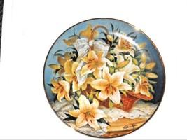 Princess Grace FRANKLIN MINT  Princesse de Monaco Lily Plate GRACE KELLY - $11.07