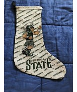 """Michigan State Spartans Holiday 18"""" Christmas Stocking of Spartan - $12.02"""