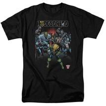 2000 AD Judge Dredd Villains T Shirt  80s retro comic book graphic tee JD104 image 1