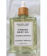 NEW Wellness + Body Firming Oil Lavender Chamomile by Home & Body Co (4 oz) - $29.99
