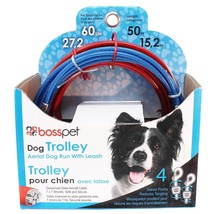 Aerial Dog Run Tie Out Sky Trolley System Holds Up To 60lbs Choose Cable... - $29.59+