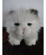 Little live Pets CUDDLES My Dream Kitten White Plush Interactive Cat - $39.59