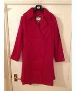 Lee Cooper Trench Coat / Ladies - Size: M / L - Colour : Red - $32.00