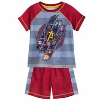 Disney Store Marvel Avengers Infinity War Sleep Set for Boys Sz 4T 5/6 - $19.99