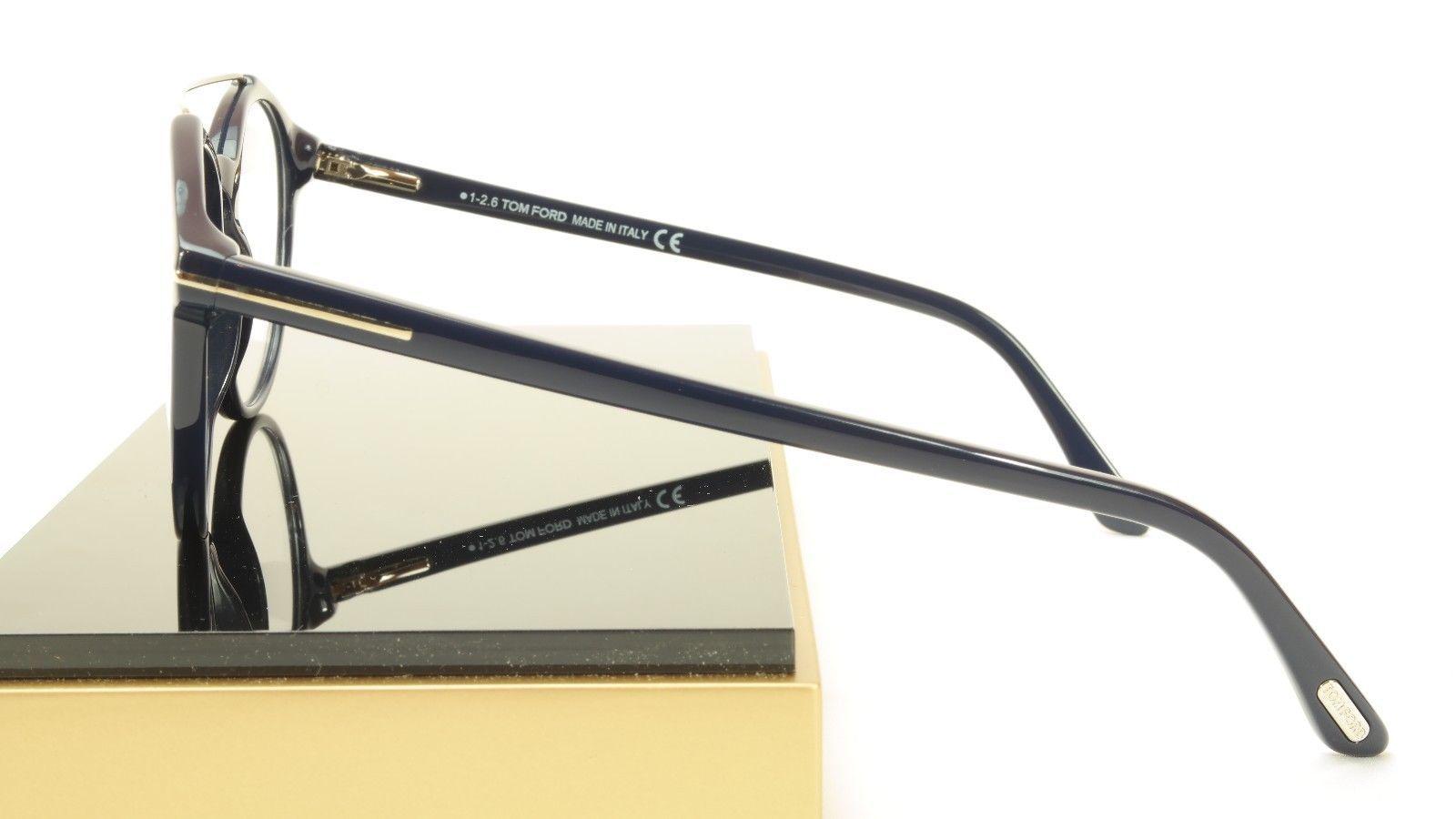 Tom Ford Authentic Eyeglasses Frame TF5455 090 Dark Navy Blue Italy 52-20-145 image 3