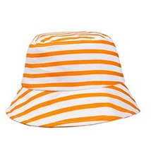 Sun-Resistant Stripe Cotton Fisherman Baby Cap Infant Hat