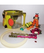 Parents Magazine Bee Bop Band Play & Learn Drum & Musical Instruments - $79.99