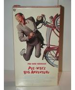 PEE-WEE HERMAN in PEE-WEE'S BIG ADVENTURE (VHS) - $50.00