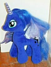 "Build-A-Bear Hasbro My Little Pony ""Princess Luna"" Blue Unicorn Plush - $21.16"