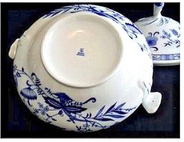 Soup Tureen Bowl with Lid AB 12 Vintage image 3