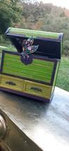 Refurbished Vintage Wicker Jewelry Box - $30.00