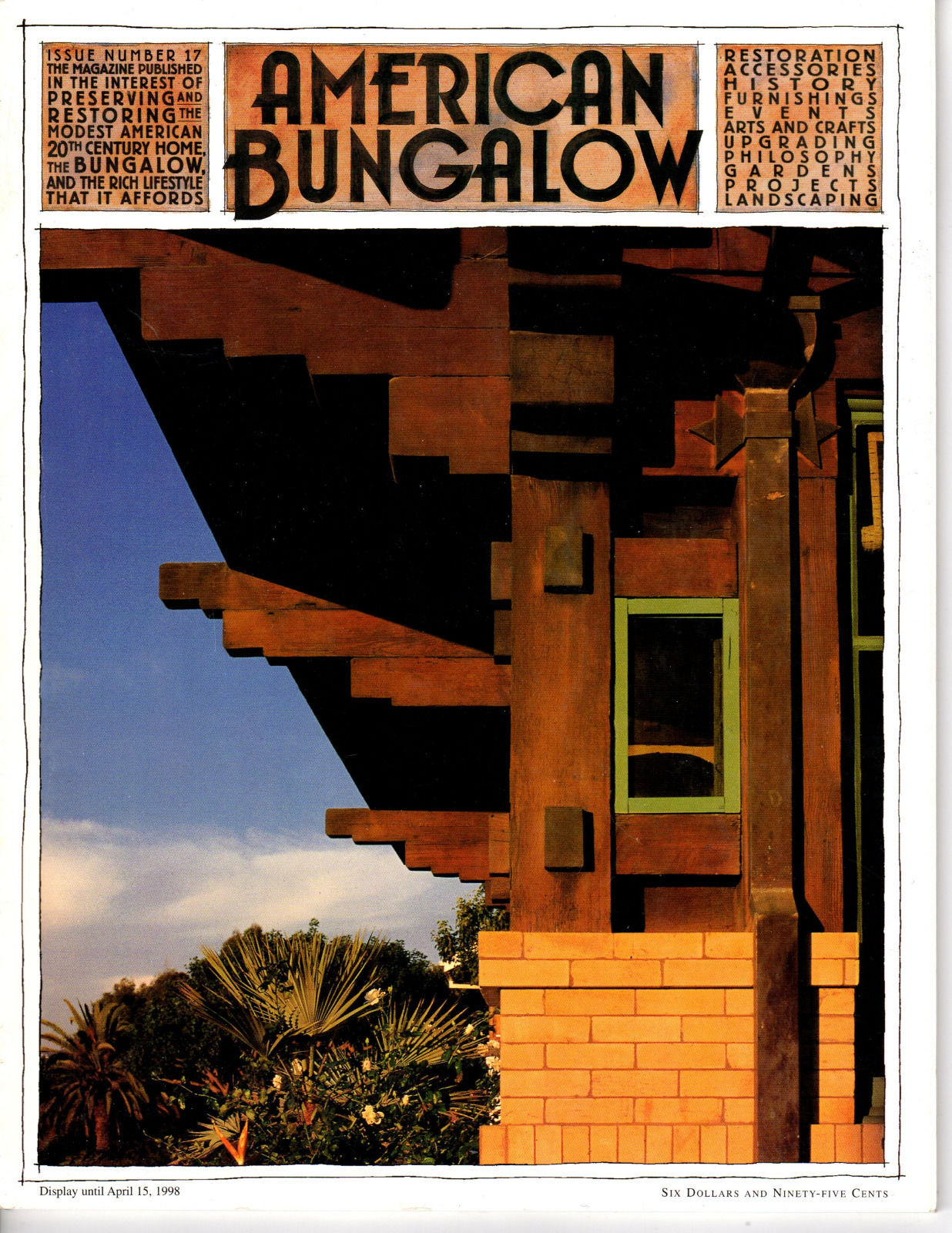 Primary image for Issue #17 <<< American Bungalow Magazine>>> Architecture Desig