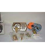 Parts lot Schlage BE365 V CAM 619 Camelot Keypad Deadbolt, Satin Nickel - $62.88