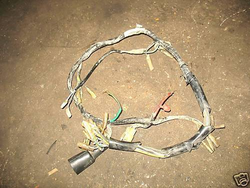 71 72 honda sl350 sl 350 main wiring harness and 50 similar items rh bonanza com