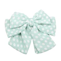 Ladies Elegant Cloth Bow Hair Clips Ponytail Hair Decor Hair Accessories... - $13.06