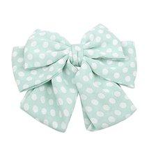 Ladies Elegant Cloth Bow Hair Clips Ponytail Hair Decor Hair Accessories... - $13.06