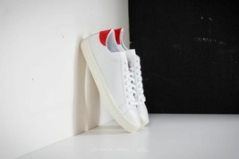 ADIDAS CQ2566 Court Vantage Sneaker Shoes Cloud White / Red ( 13 )  - $99.97