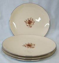 Flintridge Marlys Platinum Trim Coupe Dinner Plate Set of 4 - $60.28
