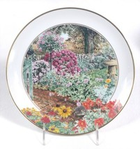 1984 Franklin Mint The Garden Year Collection October Collector Plate EUC - $11.75
