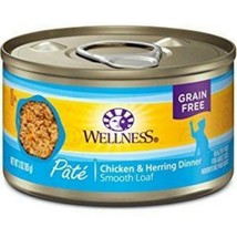 Wellness Complete Health Chicken & Herring Formula Grain-Free Canned Cat Food - $59.99+