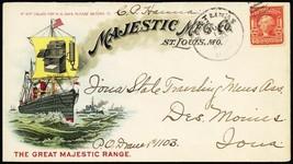 Majestic Range & Stove Mfg Co. Multicolor Advertising Cover -- Stuart Katz - $75.00