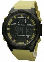 Timex Marathon TW5M21100 Men's Digital Watch Lime Resin Strap - $25.95