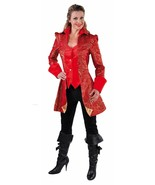 Deluxe Ladies Pantomime Prince Charming Jacket , sizes 6-22 - $50.16