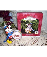 HALLMARK CHRISTMAS ORNAMENT DISNEYS MICKEY MOUSE MIB - $17.72