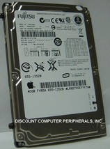 MHW2080AT Fujitsu 80GB IDE 44PIN 2.5 in 9.5MM Hard Drive Tested Good