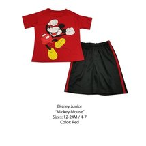 DISNEY KIDS SET (7 YEARS, RED MICKEY) - $8.81