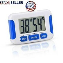 Digital Kitchen Timer Magnetic Cooking LCD Large Count Down Clear Loud A... - $9.90