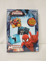 NEW SEALED Marvel Ultimate Spiderman Memory Match Game - $13.99