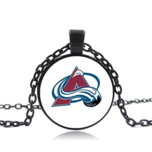 Colorado Avalanche Nhl Cabochon Necklace >We Combine Shipping< (2533) - $2.72