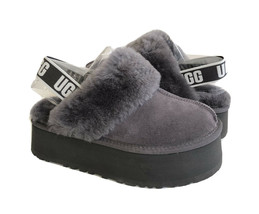 UGG FUNKETTE SLIDE NIGHTFALL STRAP SHEARLING SANDALS US 7 / EU 38 / UK 5 - $172.98