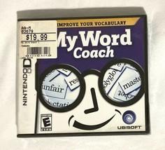 My Word Coach (Nintendo DS, 2007) New - $19.79