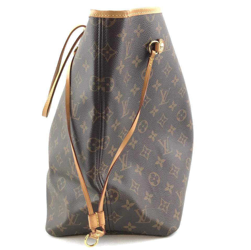#32322 Louis Vuitton Neverfull Neo Nm Large Gm Tote Work Canvas Shoulder Bag image 9