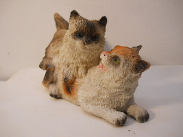 Kittens Playing Double Pussy Cats Figurine Collectible - $14.99