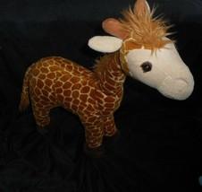 "24"" BIG 2010 GEOFFREY TOYS R US BROWN TAN BABY GIRAFFE STUFFED ANIMAL PL... - $66.62"