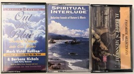Lot of 3 Cassettes Spiritual Interlude Handel's Messiah & Out of The Blue - $5.87