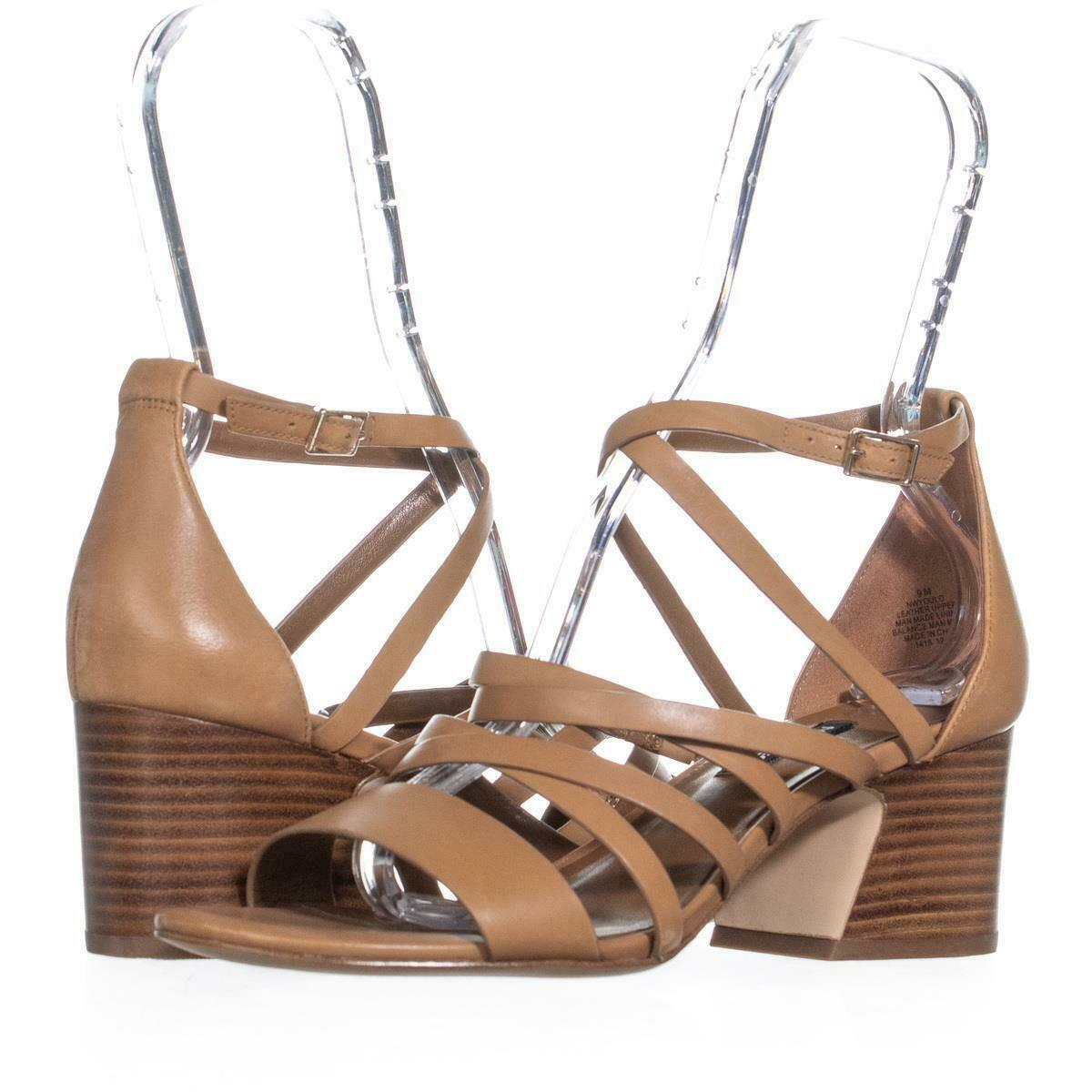6b1fb56cec6 Nine West Youlo Ankle Strap Block Heel and 50 similar items