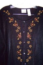 Size XL - Plus Size 3X ~ Villager Long Sleeve Sweaters, some with Beaded Accents image 3