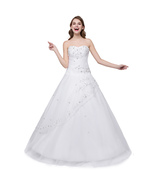 2018 Long Quinceanera Dresses Sweet 16 Dress New Long Beaded Evening For... - £67.65 GBP