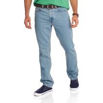 Faded Glory Men's Regular Fit Jeans 38X34 Light Tint Classic Fit Straight Leg  - $27.71