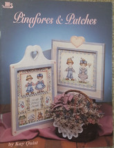 Pinafores & Patches By Kay Quist Pen & Ink Holiday Tole Painting Book VT... - $7.98