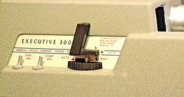 American Optical Executive 300 Slide Projector with Case AA20-2130 Antique (USA) image 5