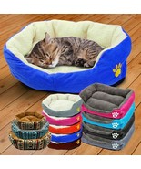 Pet Bed Small Cats Dog Sleeping Warm Cotton Material House Sofa Animal A... - $12.74+
