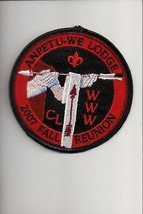 2007 Lodge 100 Anpetu-We Fall Reunion OA patch - $7.92