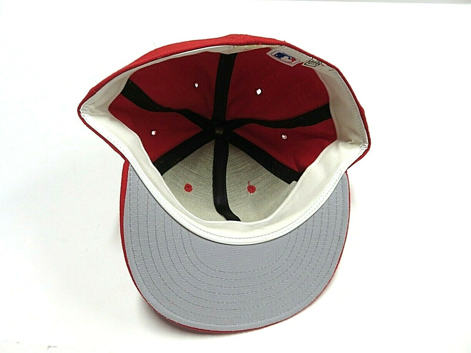 VTG New Era St.Louis Cardinals MLB Baseball Fitted Hat Adult Size 7 3/4 USA Made image 4