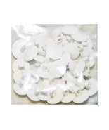 1oz White Plastic Assorted Size/Shape Buttons - $9.99