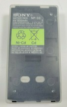 Sony NP-33 Battery Pack 6V 800mAh Ni-Cd Made In Japan - $16.95